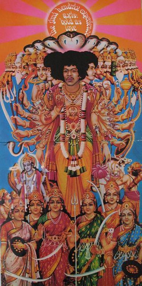 Jimi's Axis in its full length glory.