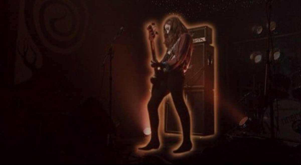 Electric Warrior was one of several album covers that were paid tribute to in the rock and roll vampire flick Suck.