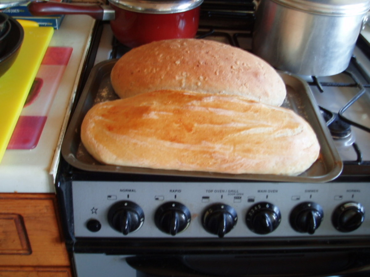 How to make home made, Artisan bread.
