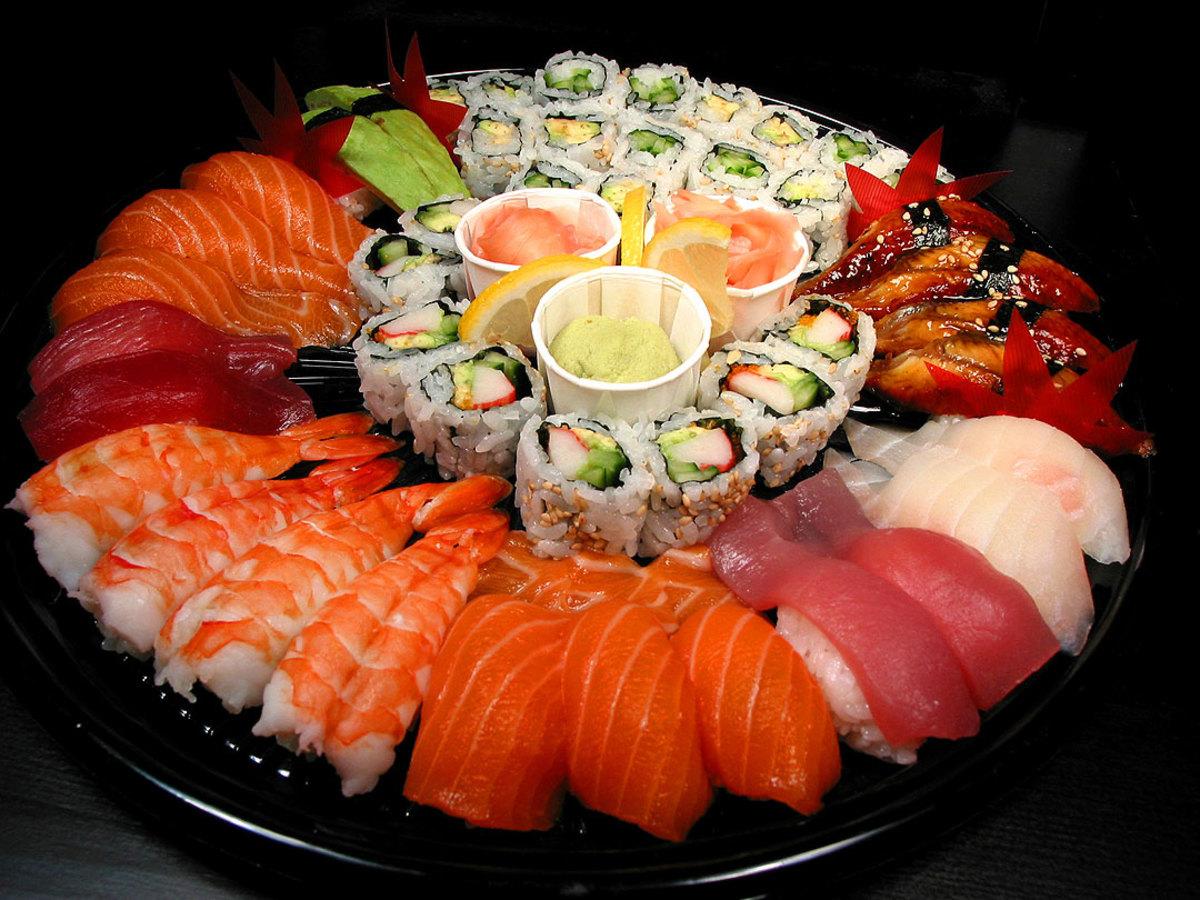Sushi Japanese Famous Dish