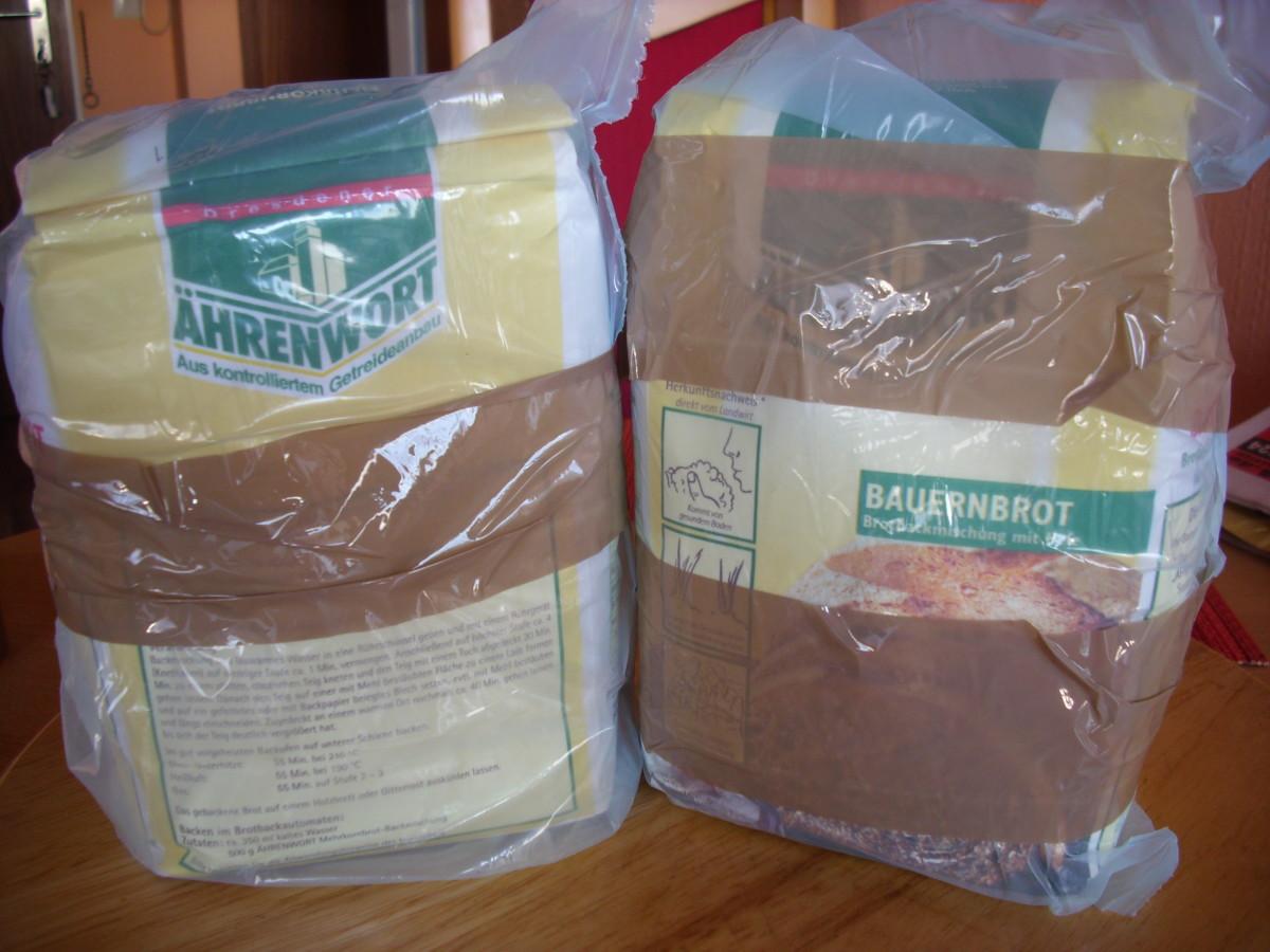 Ready to bake bread flour.
