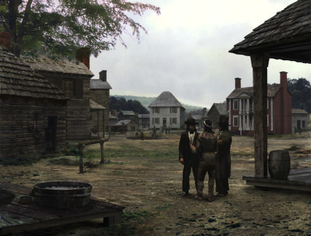NEW ECHOTA, CAPITAL OF CHEROKEE NATION IN GEORGIA