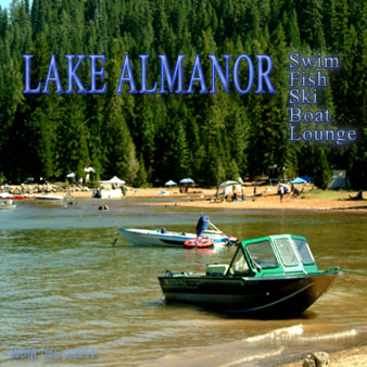 Lake Almanor is the perfect family water vacation!