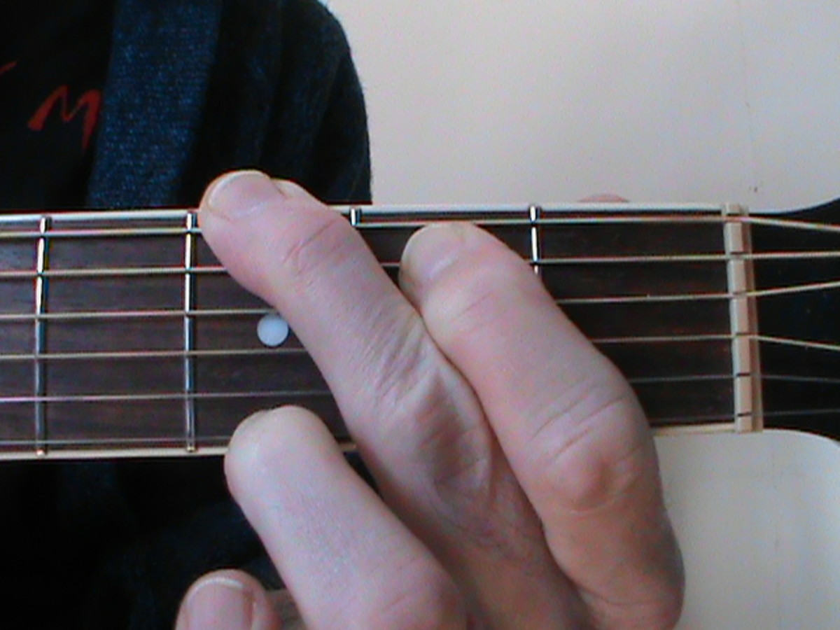 Guitar Lessons • The Fifteen Essential Open Chords For Guitar • Fingerings, Diagrams, Fingering Pictures.