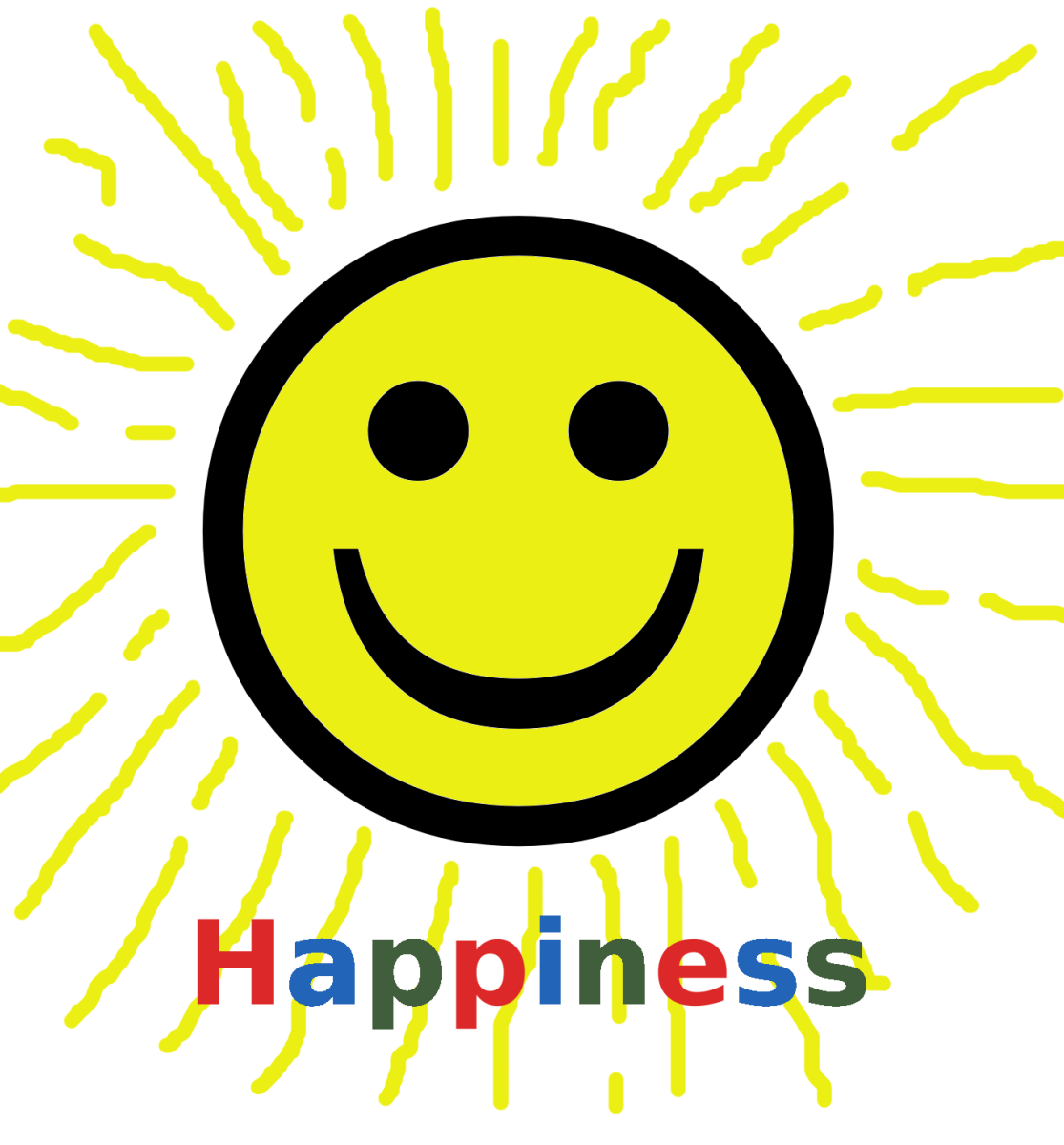 Plotinus believed that all goodness, such as happiness, radiated from the One.