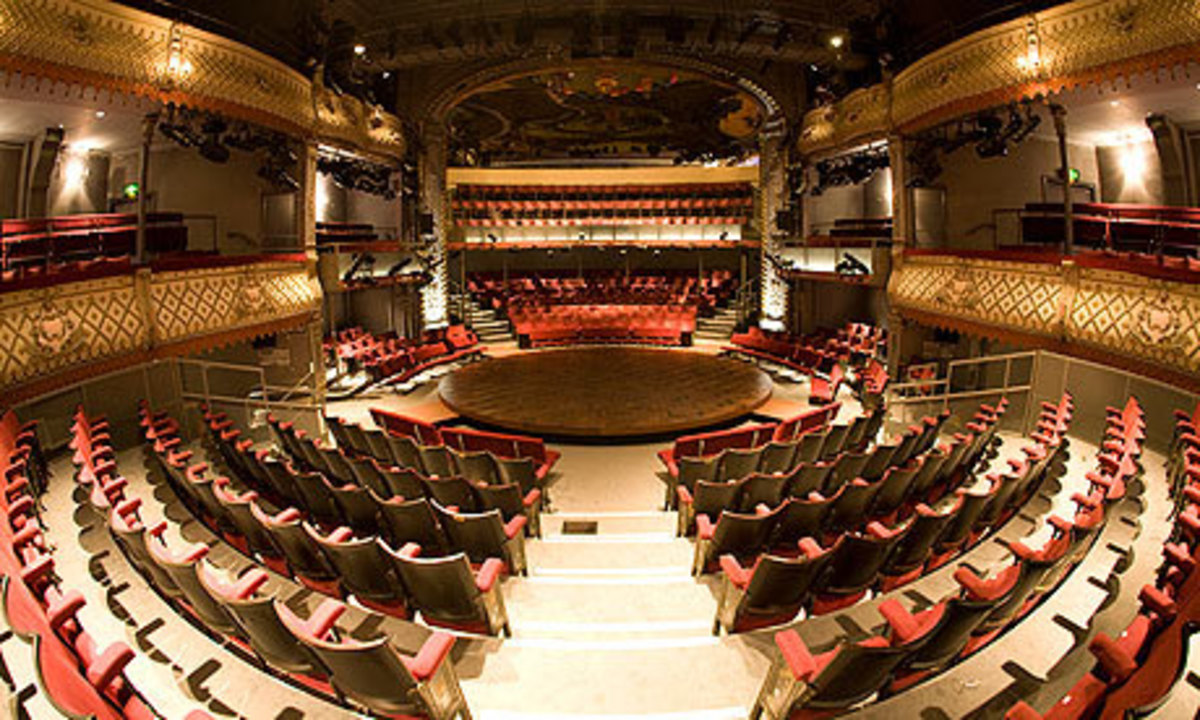 Inside the Old Vic