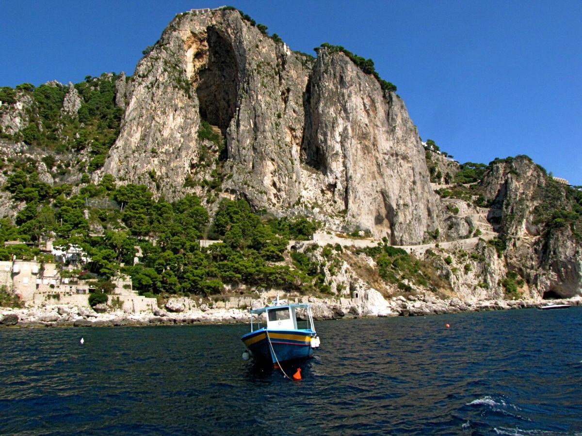 Some of the beautiful scenery around the island