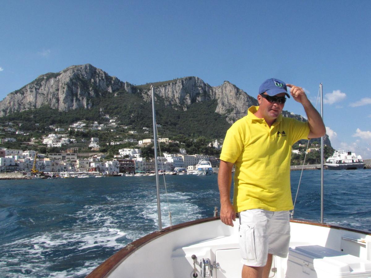 Our Captain, Stefano