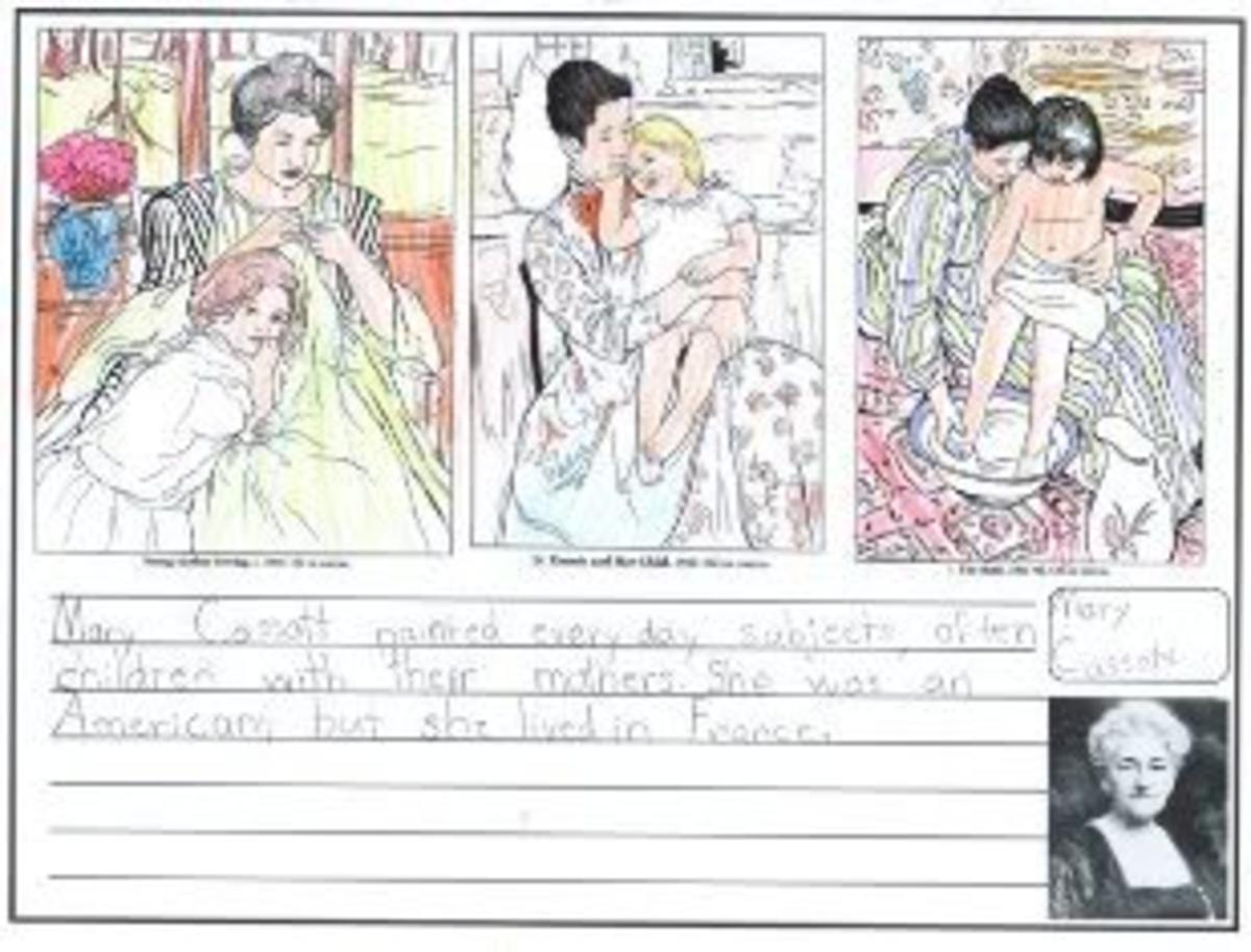 Cassatt Artist Study | HubPages