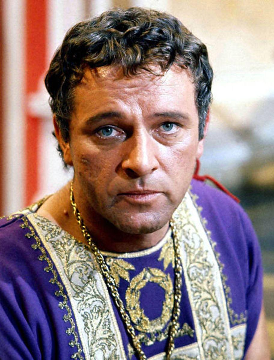 Richard Burton plays Alexander the Great