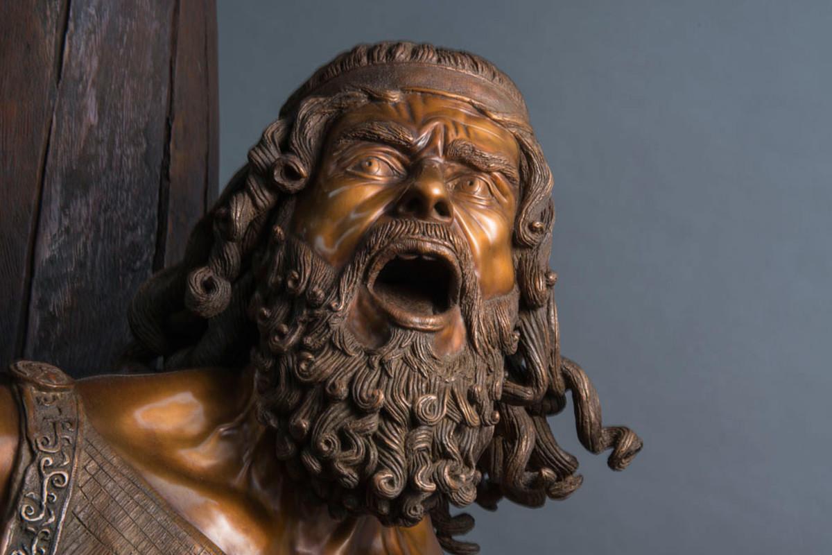 Bronze statue of Ulysses
