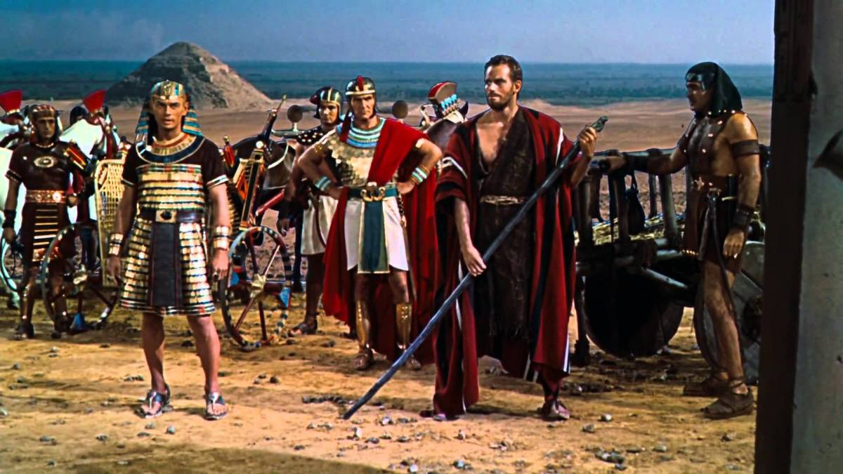 "Scene from ""The Ten Commandments"""