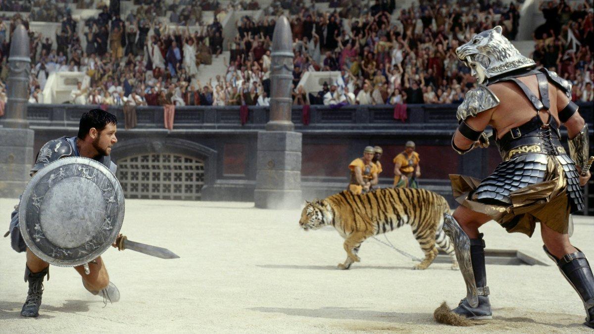 """Scene from """"Gladiator"""""""