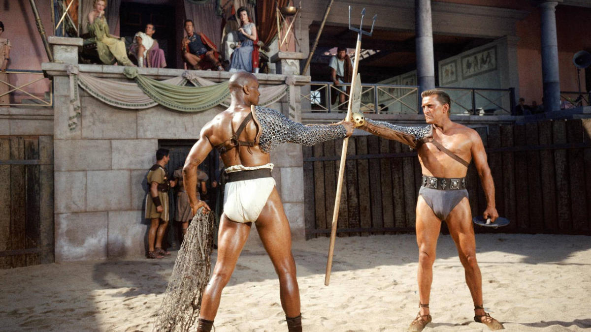 "Scene from ""Spartacus"""