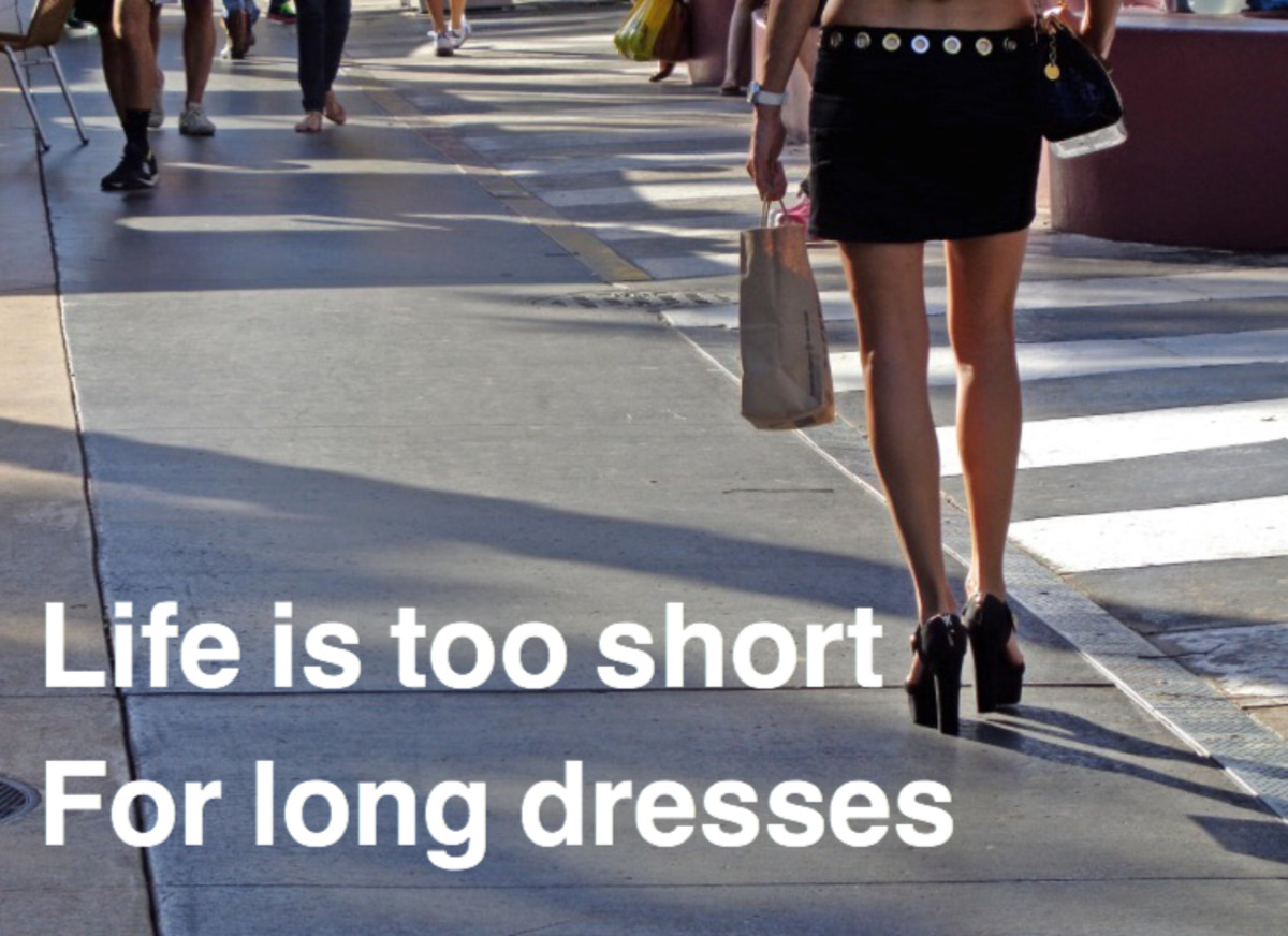 Life is too short meme.