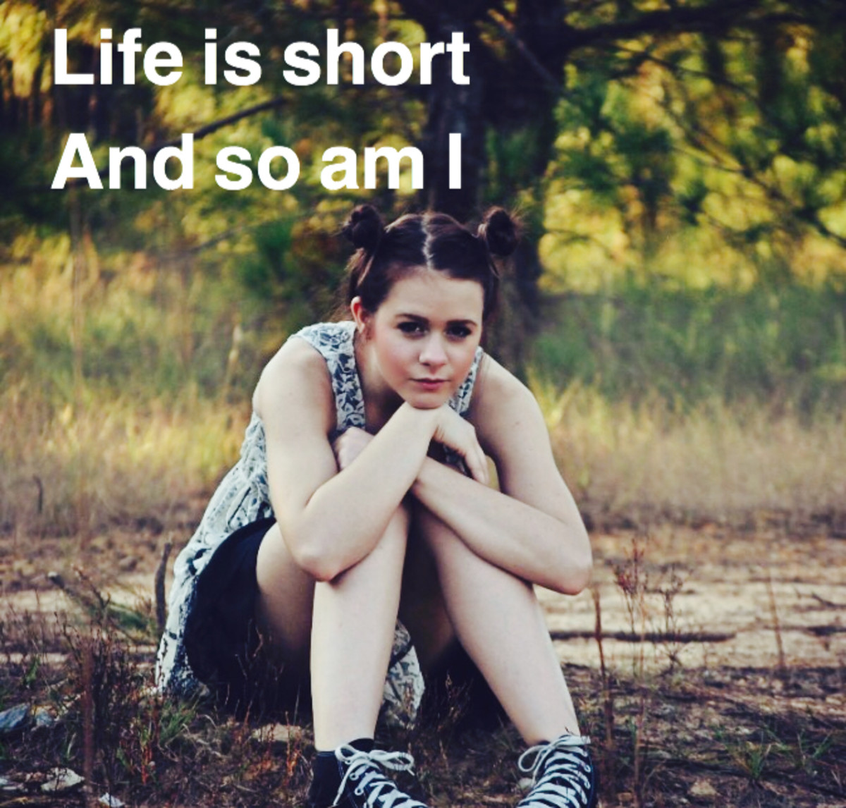 Life is too short meme.