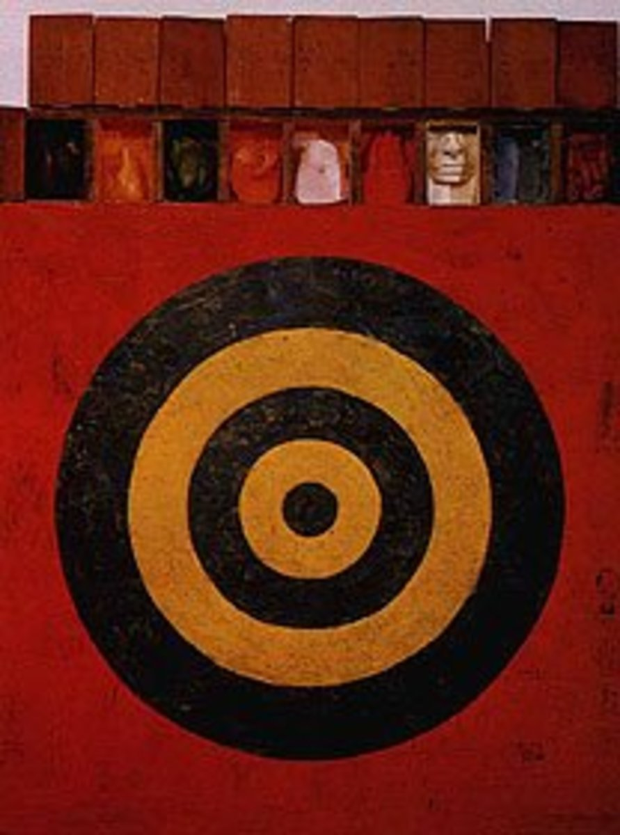 Understanding Jasper Johns' Target with Plaster Casts