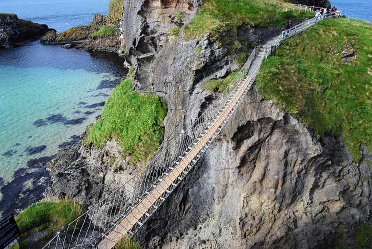 The Most Frightening and Exotic Bridge in the World