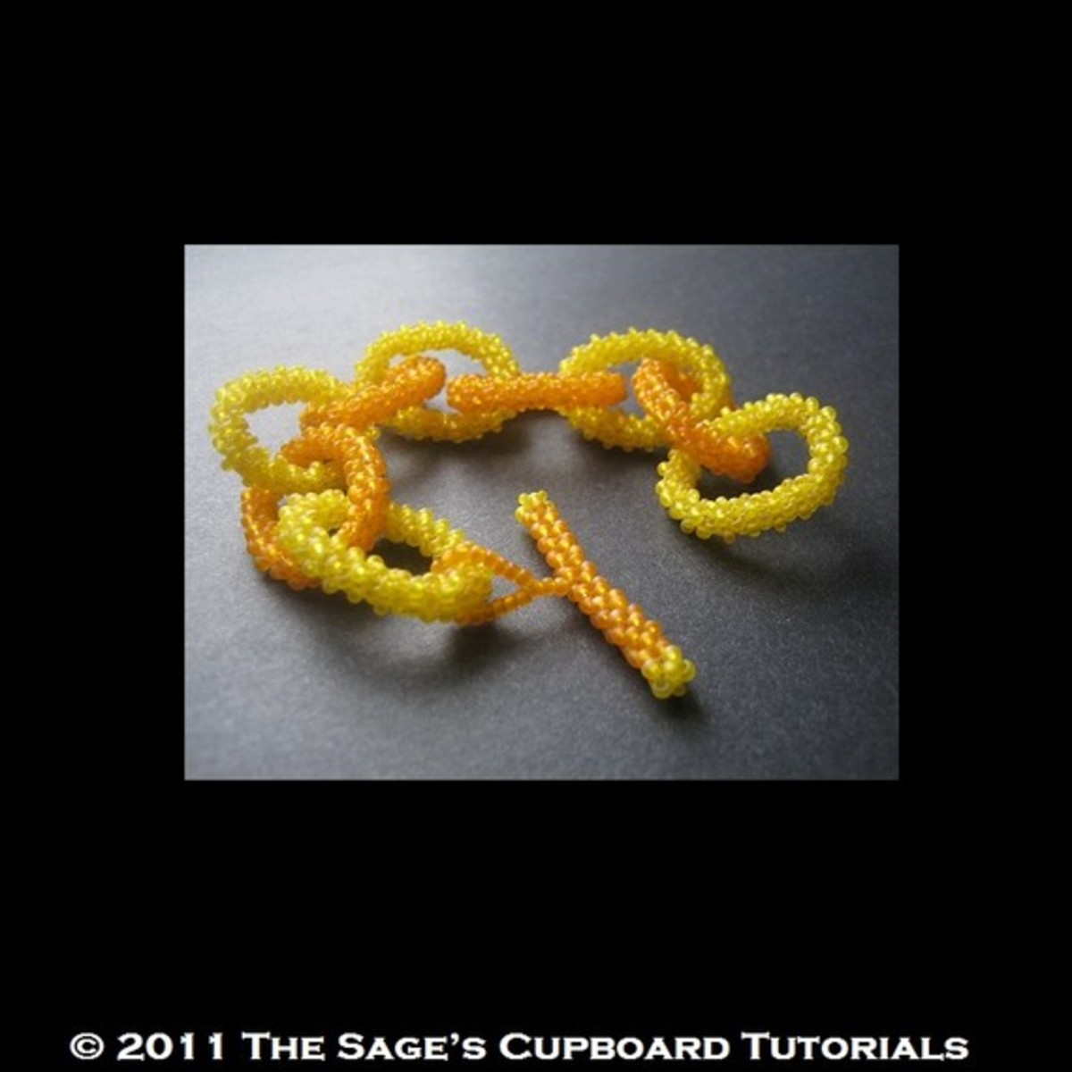 Mortira has a pattern for this bracelet available on Etsy.