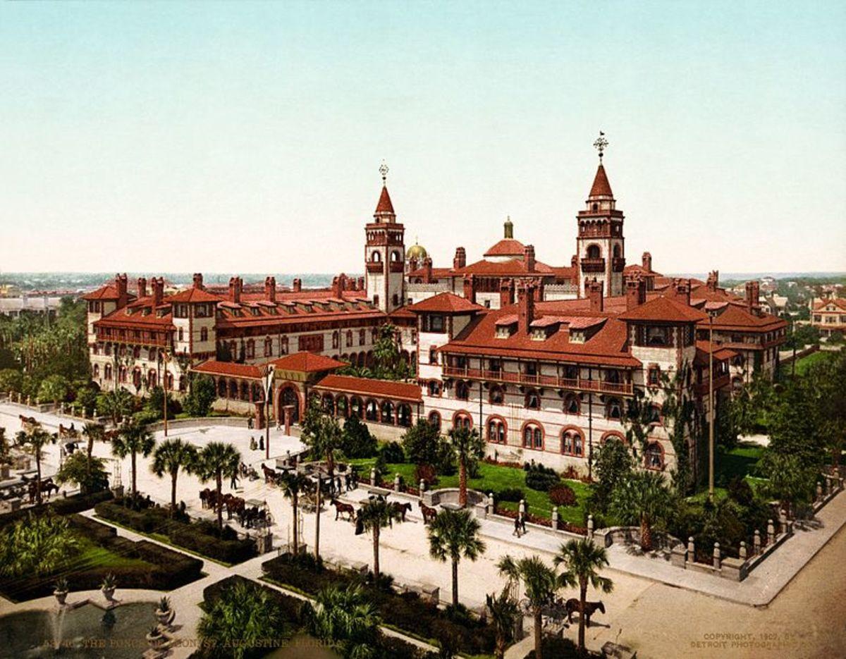 The Ponce de Leon Hotel, St. Augustine, Florida, 1902