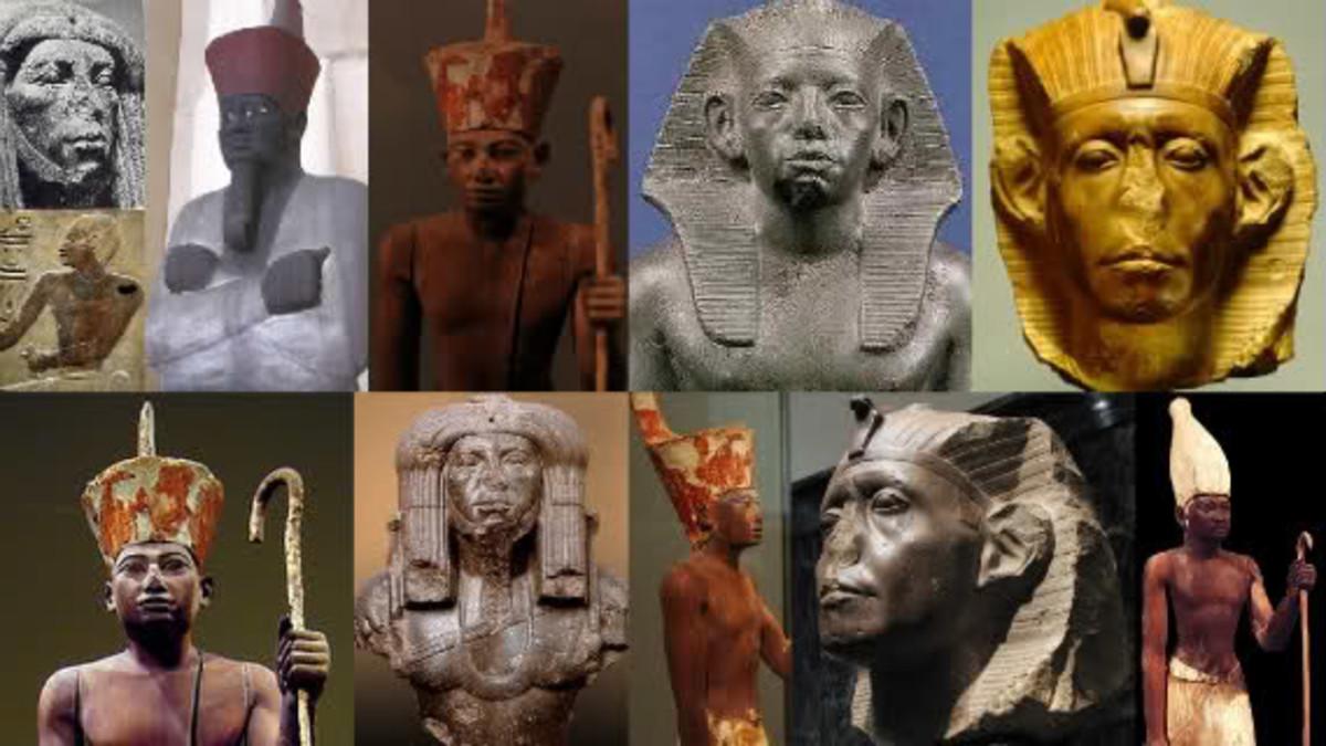 First Intermediate Period Funerary Masks