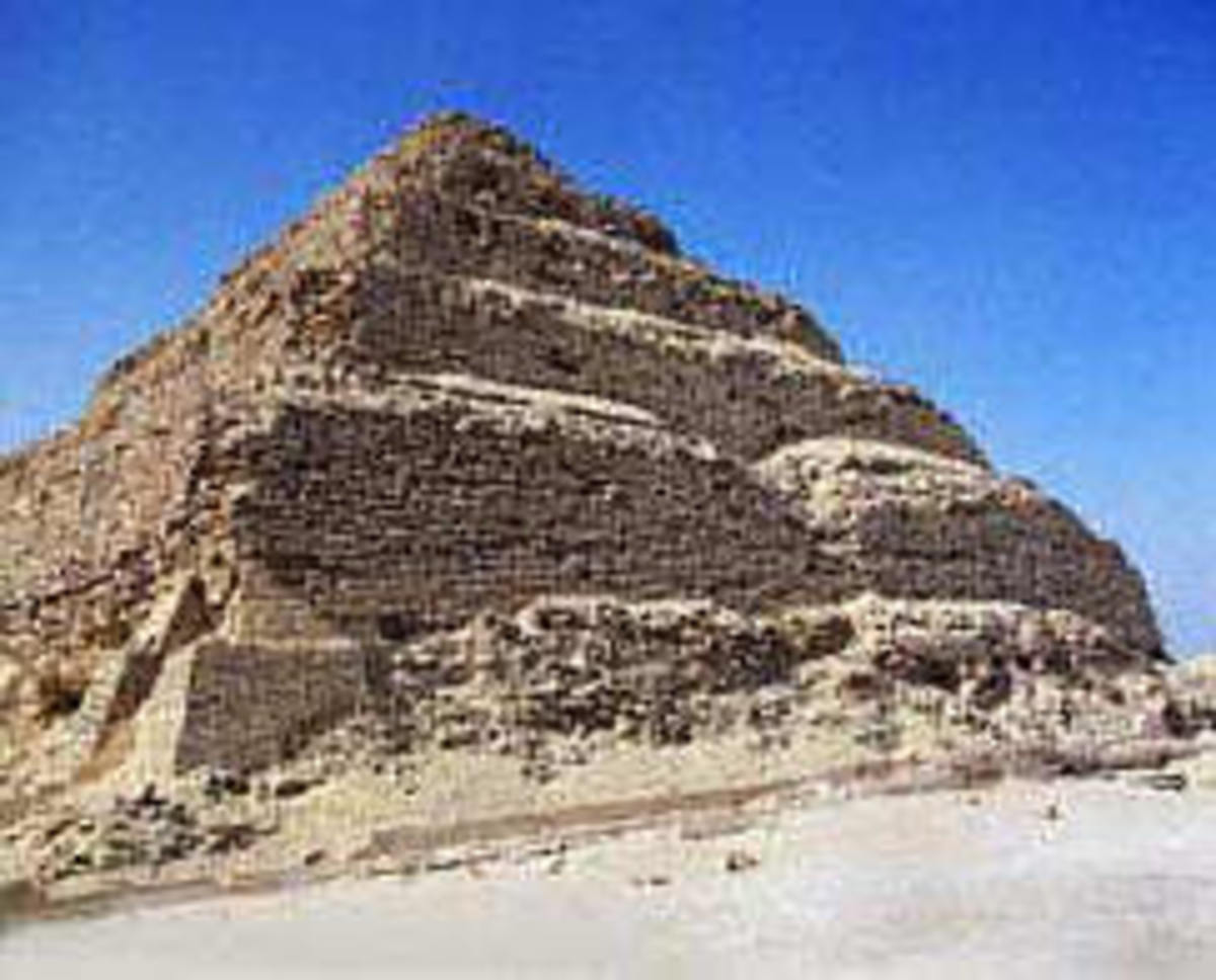 Old Kingdom Burial Pyramid