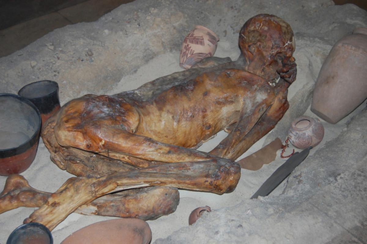 Pre-Dynastic Burial