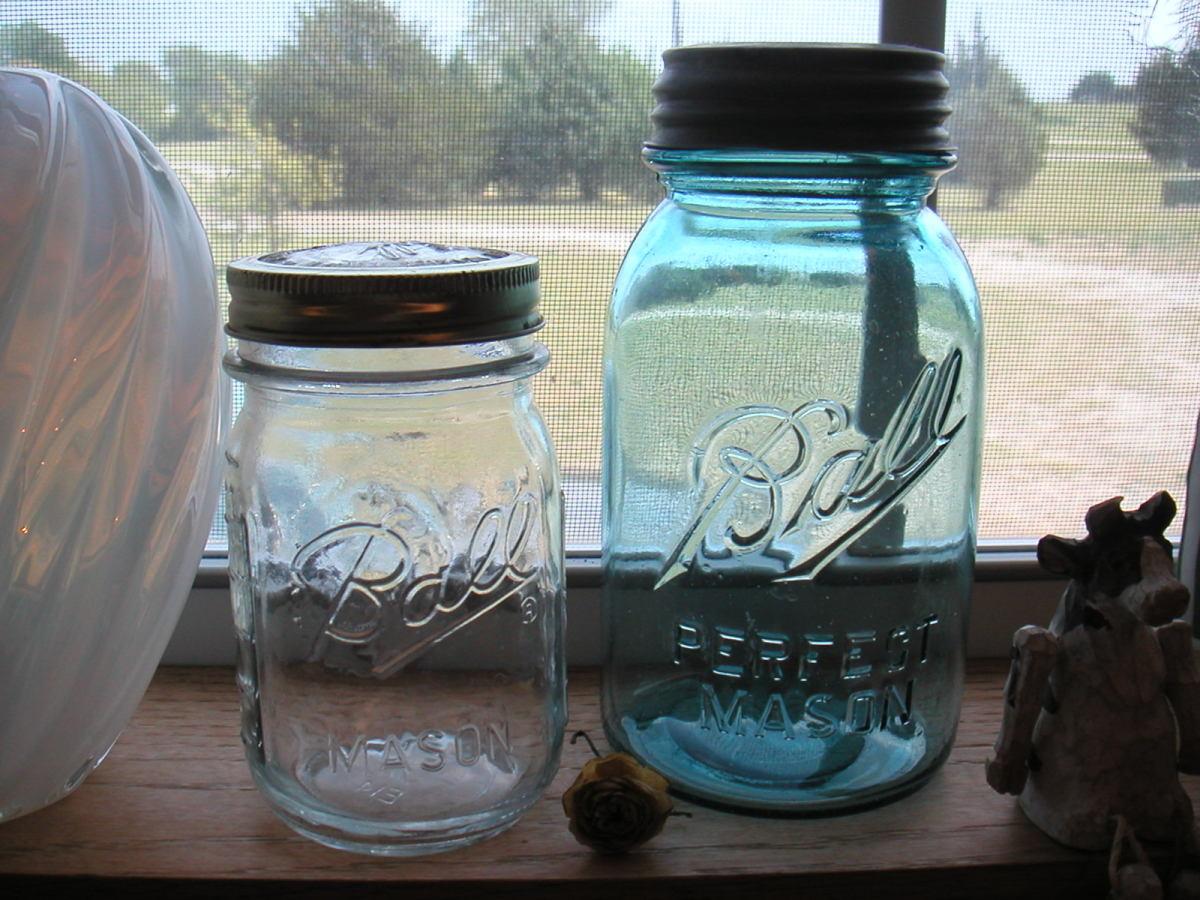 Ball Mason Jars © PegCole17