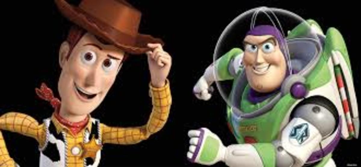"Classic bros. (Woody and Buzz from ""Toy Story"")"