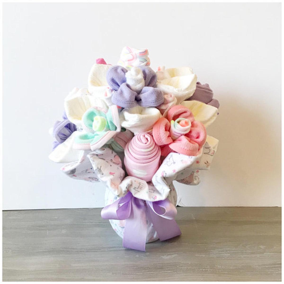 Baby Diaper Bouquet