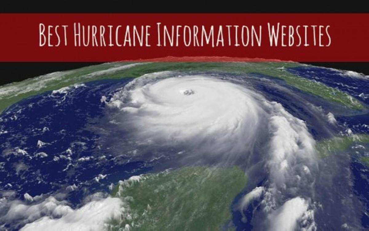 Satellite Image of Category 5 Hurricane Katrina (2005) Approaching the Gulf Coast.