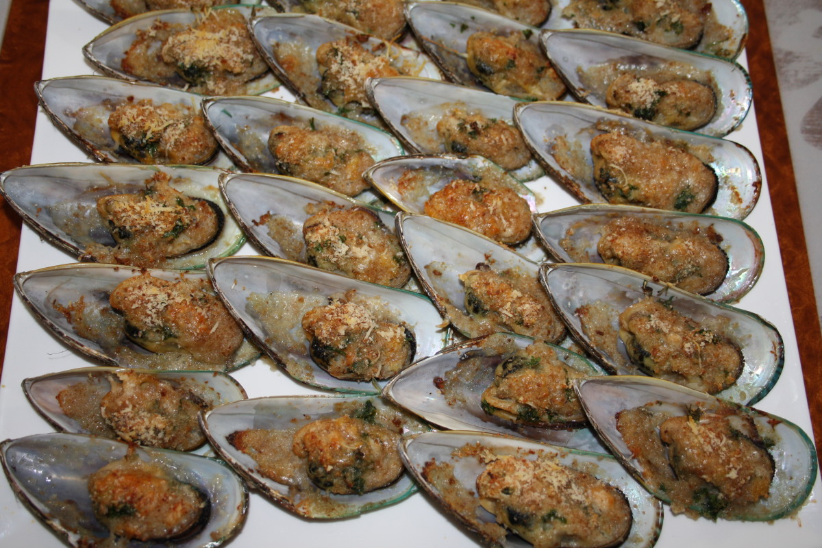 Baked Green Mussels Recipe - My Family and Friends' Favorite