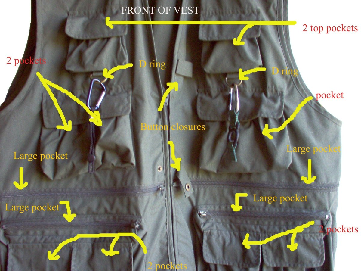 Uncle Milty's Travel Vest has 17 pockets