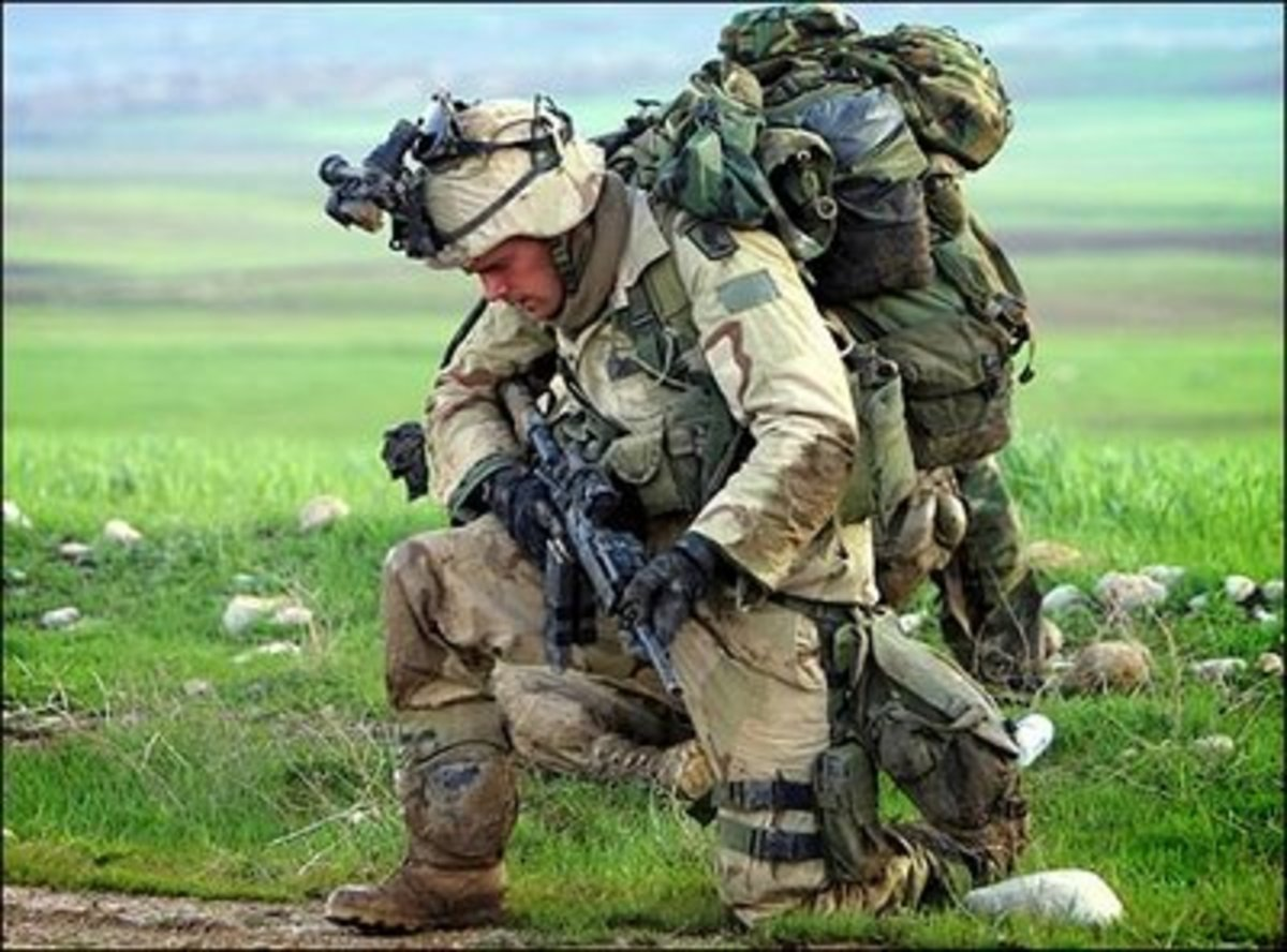 A soldier with all the gears needed for battle is far more effective than one with nothing but his bare hands.