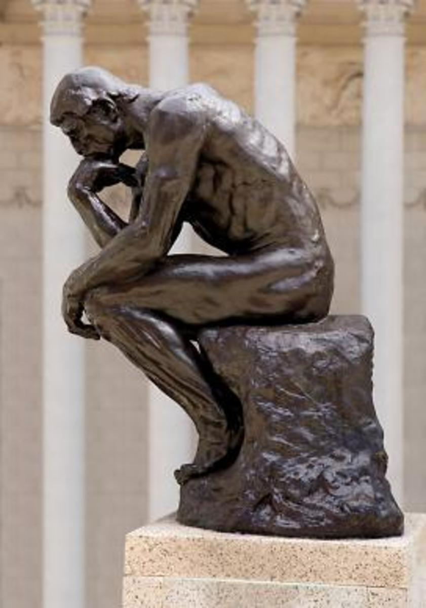 Rodin's, The Thinker