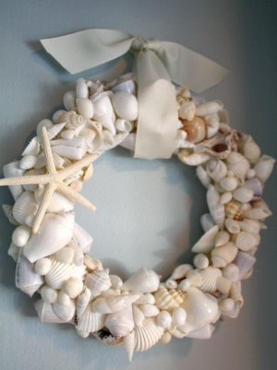 how-to-do-a-seashell-wreath