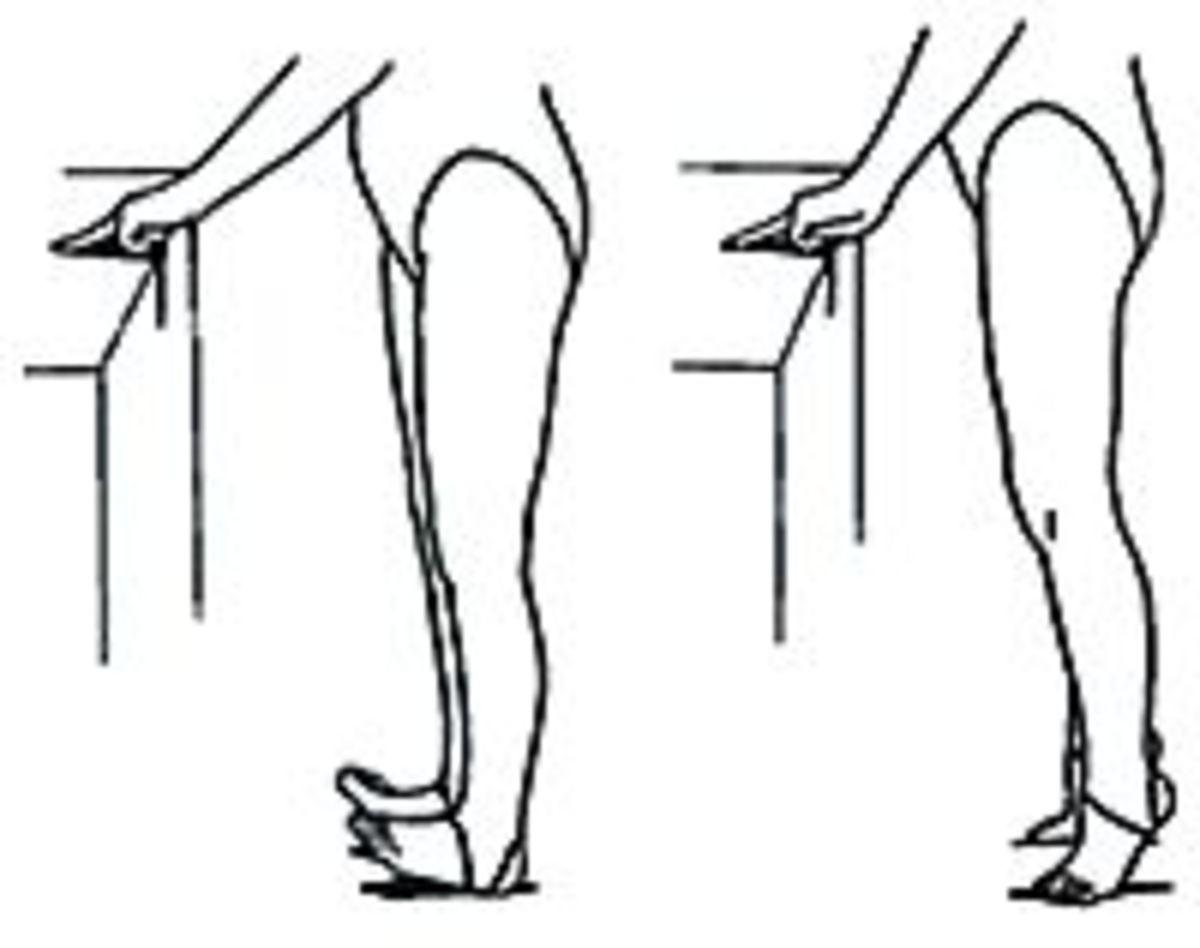 Tippy Toe Stretch