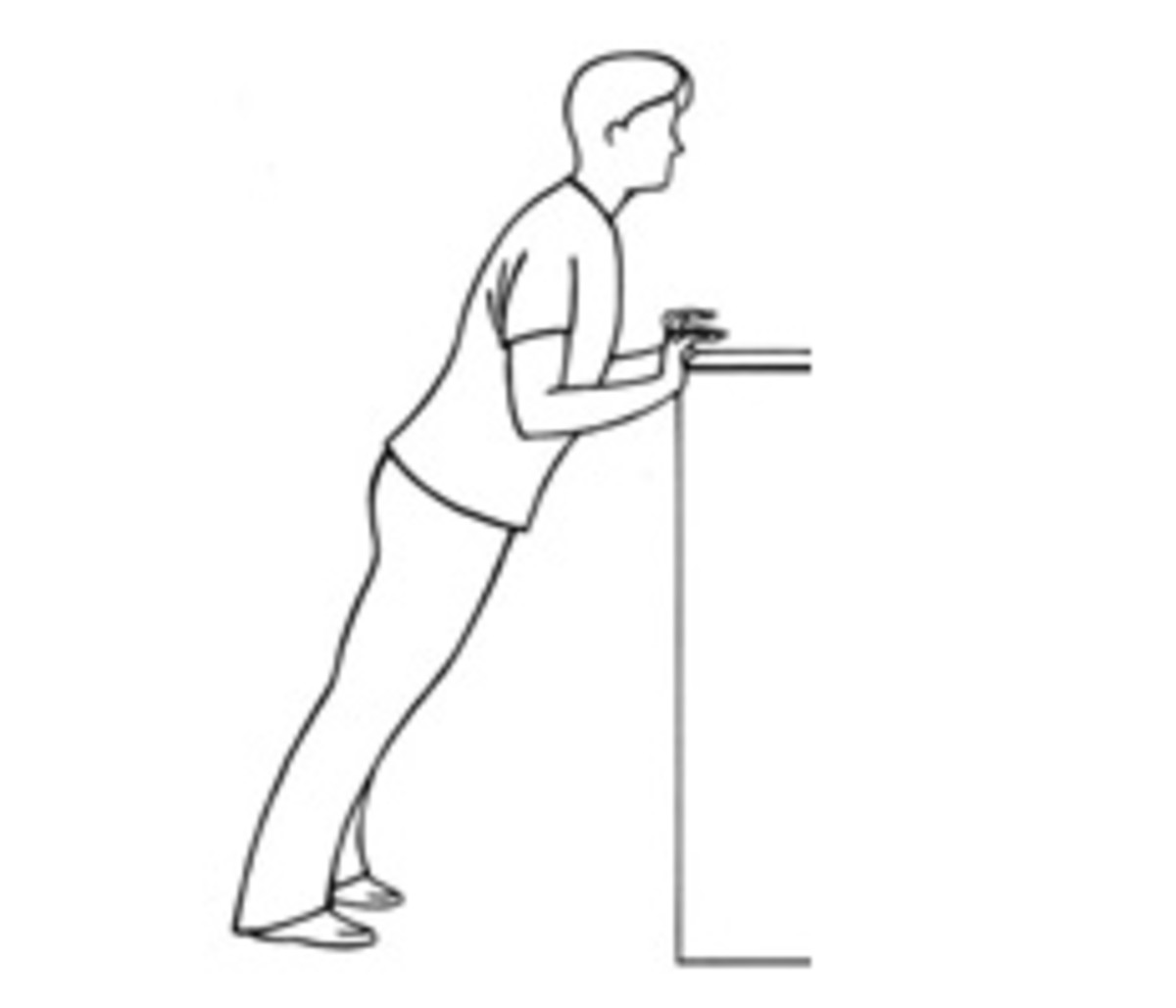 Push Up without getting down