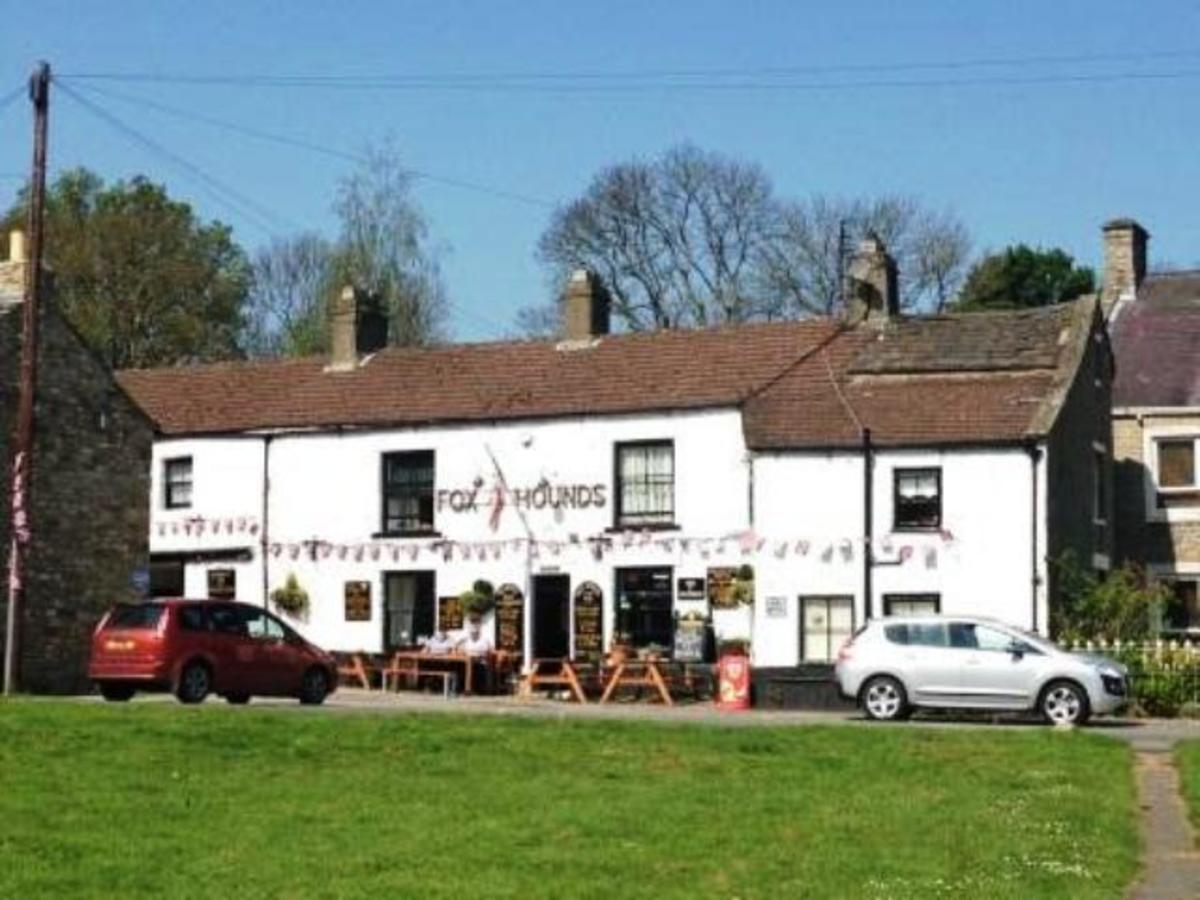 The Fox & Hounds on the green, West Burton - great for food and drink in a family run inn