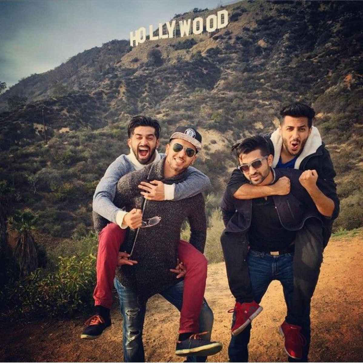 DhoomBros in a fun-loving picture.