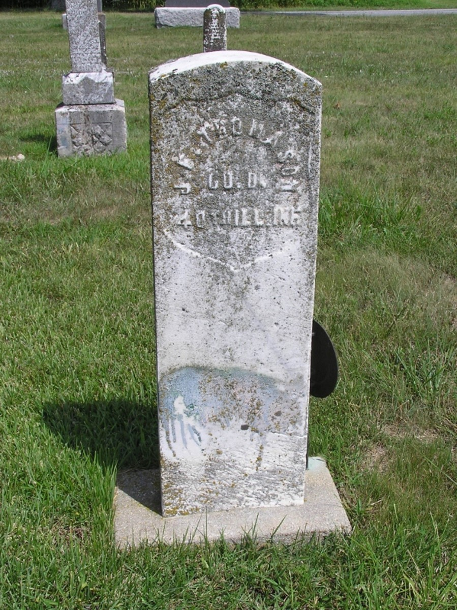 Grave At Olive Branch Paula Moxley