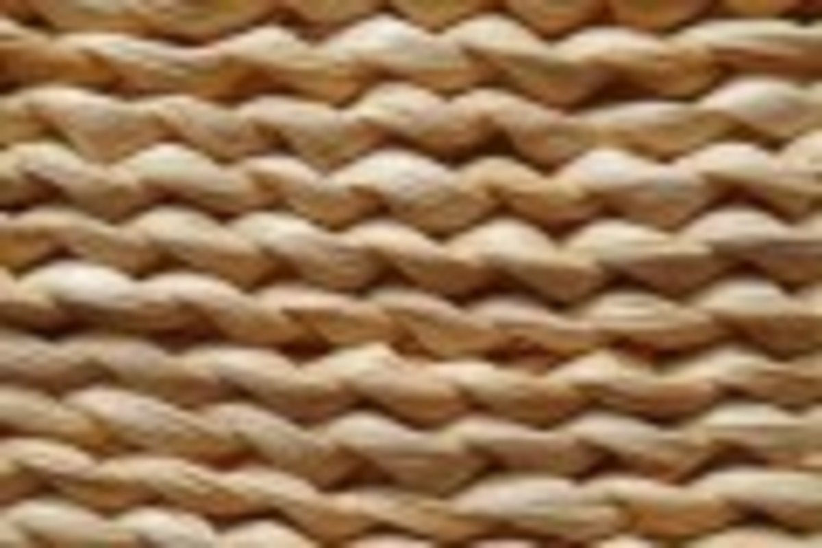 Seagrass matting is available in a variety of styles
