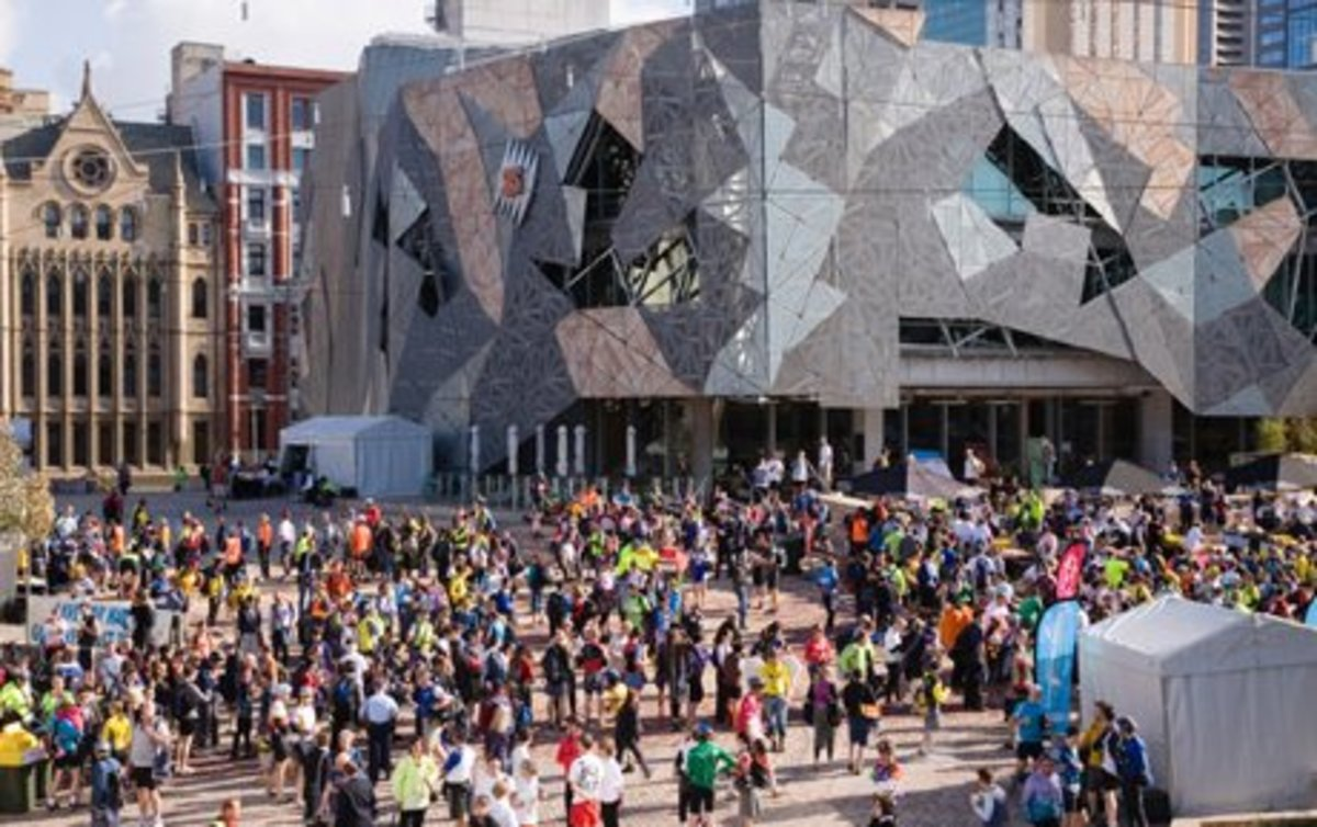 The Federation Square is a hotspot for locals, and for tourists.