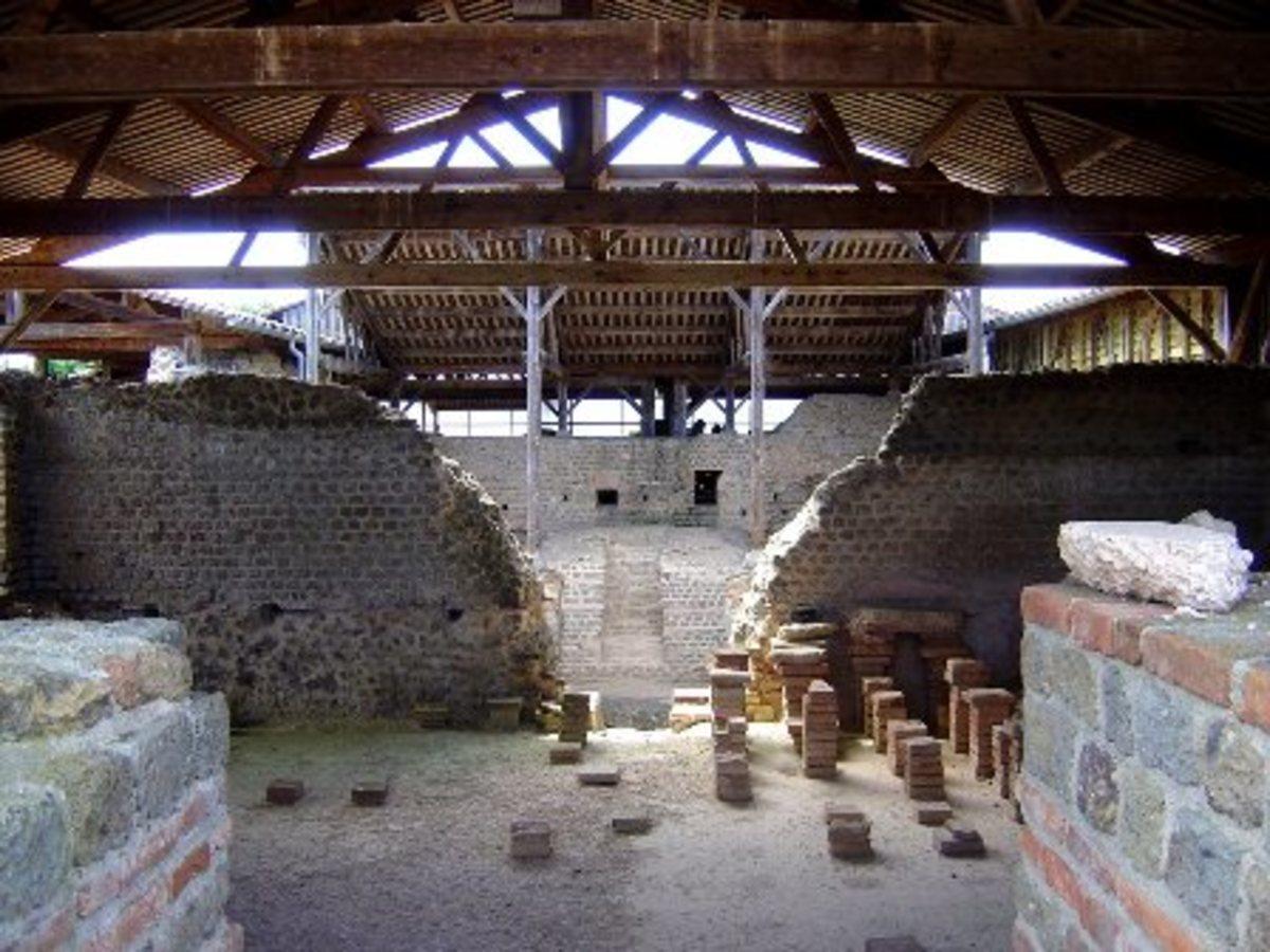 Cassinomagus, Chassenon, the Charente