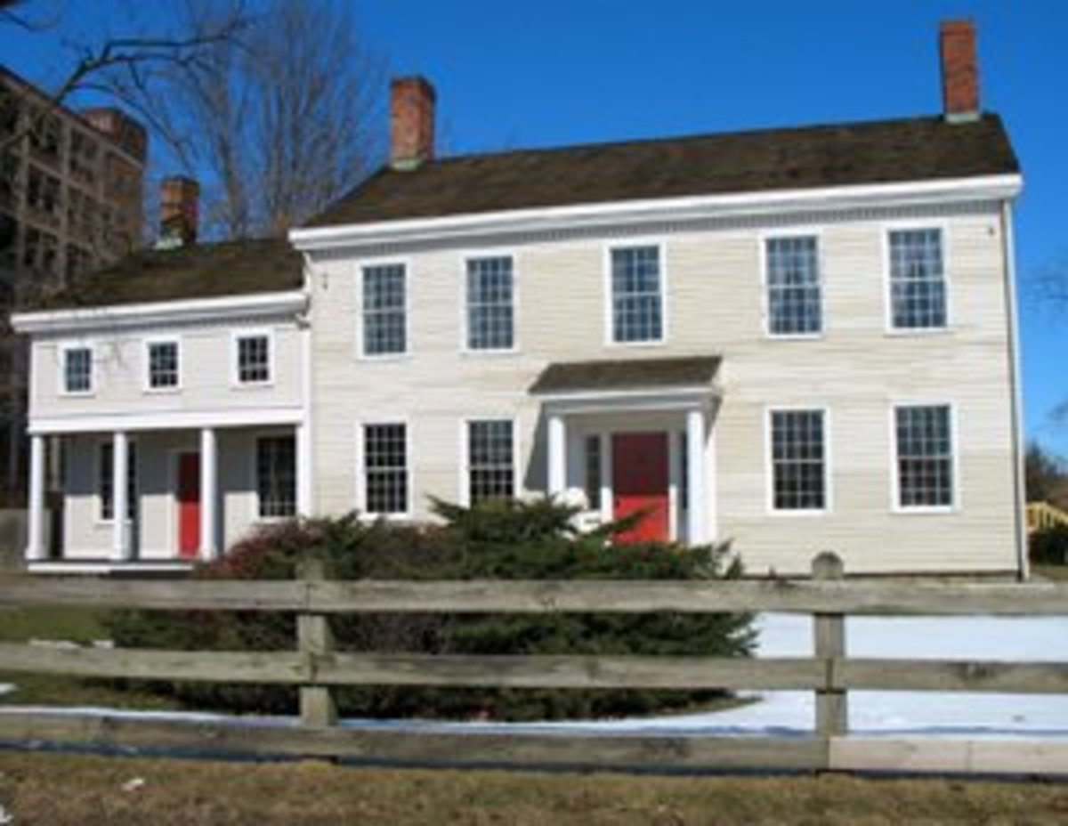 Historic Dunham Tavern, one of the oldest Western Reserve structures in Cleveland