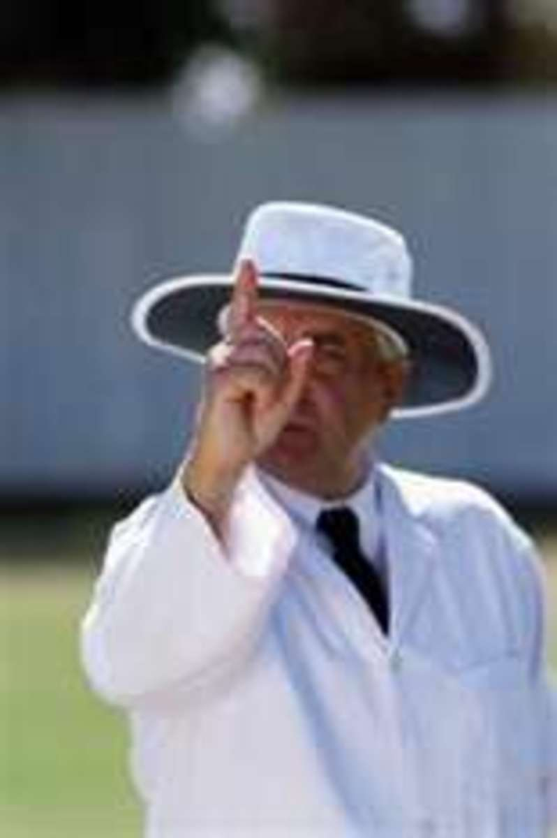 This is just an umpire giving you the finger. The worst of them are yet to come.
