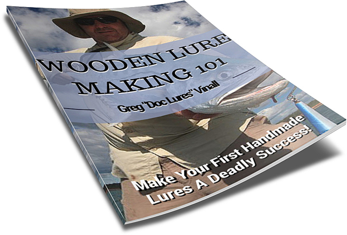 Download my Wooden Lure Making guide for free. It's the best way to get started!