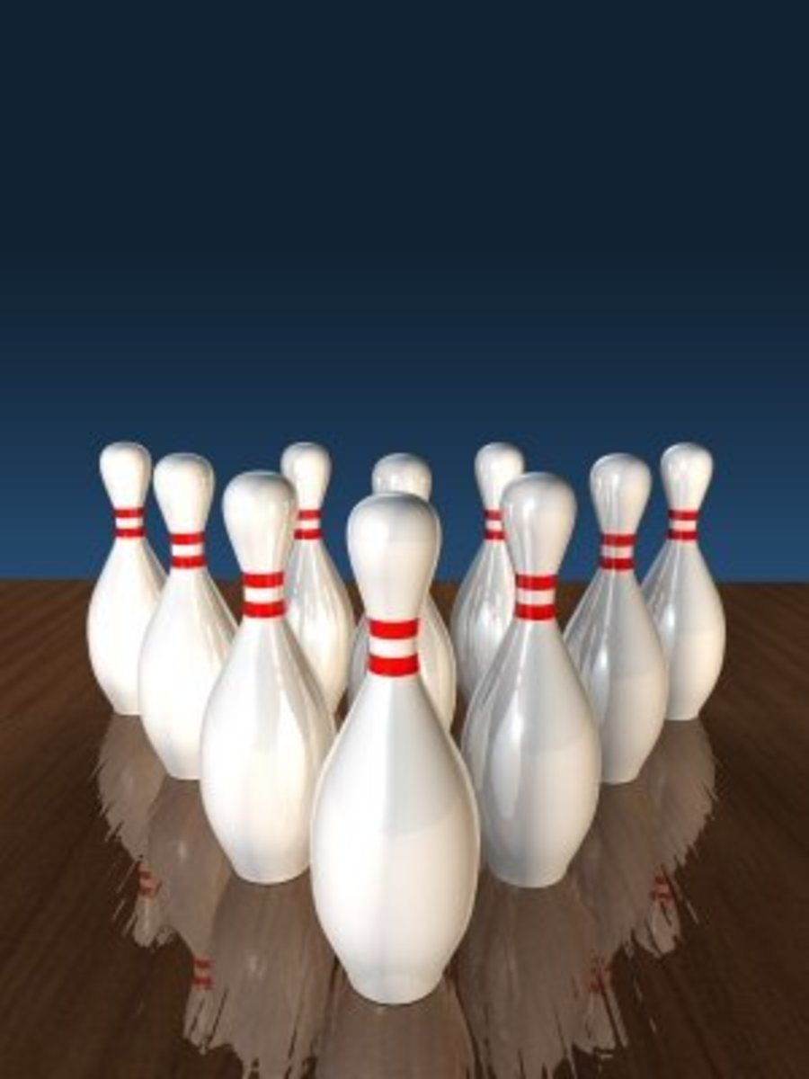 Go bowling with friends once a month, or join a league