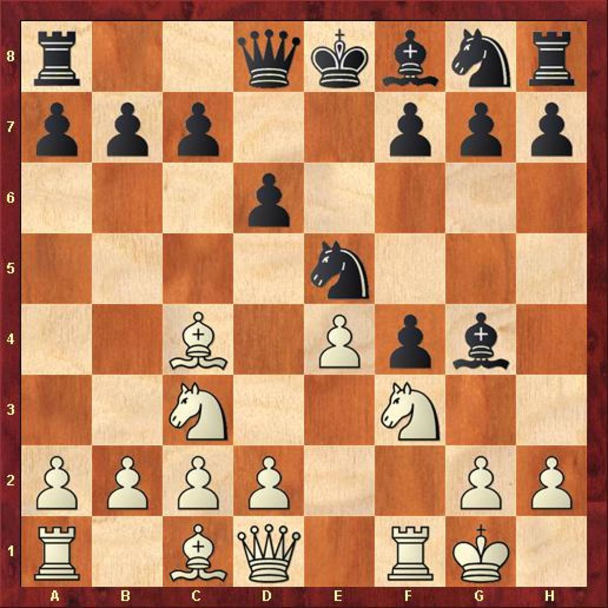 Legal's Mate in the King's Gambit