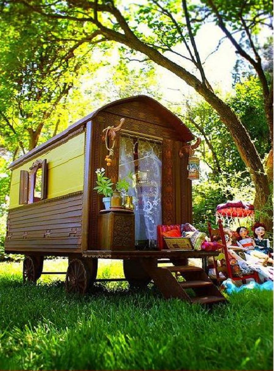 Gypsy Caravan By du_buh_du_designs